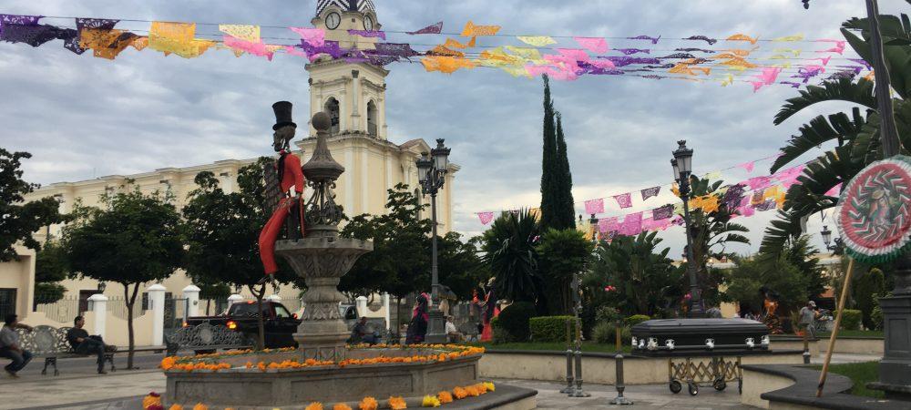 Tonaya celebra el 6to festival de la catrina