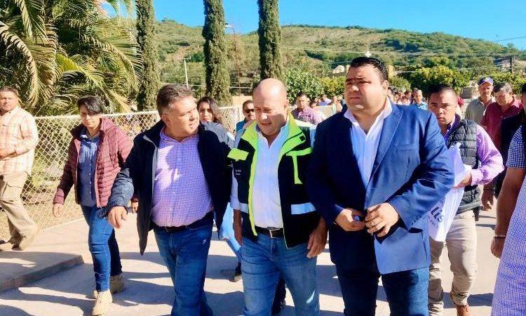 Visita del Gobernador de Jalisco